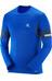 Salomon Agile Langærmet T-shirt Herrer blå